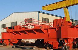 Double Girder Eot Crane With Chain Hoist Trolley