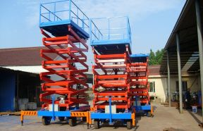 Movable Hydraulic Scissor Lifts