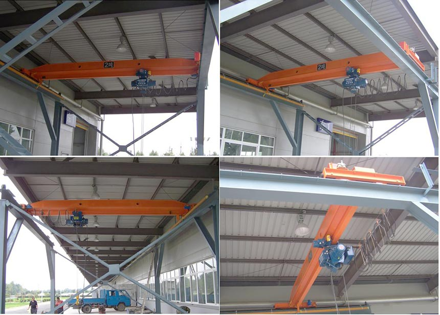 LDA Model Single Girder Overhead Crane