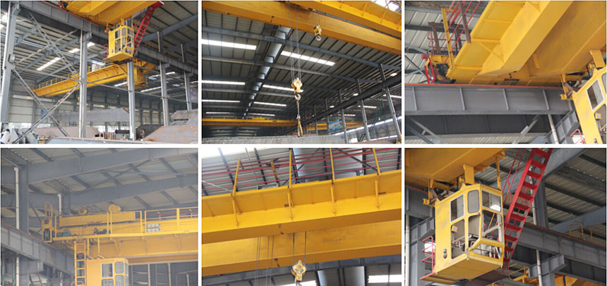 LH Double Girder Overhead Crane with hoist trolley