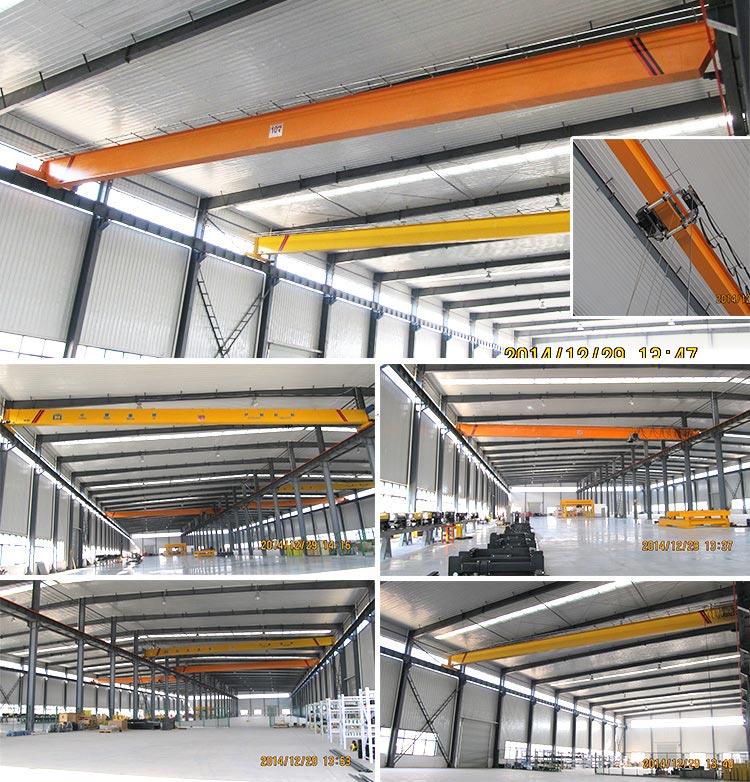 ND New European Design Single Girder Eot Crane