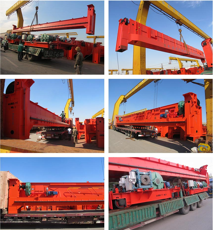 QD Model Double Girder Overhead Crane