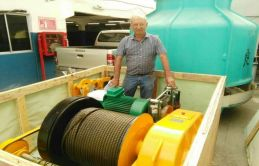 Our Heavy Duty Electric Winch Entirely Satisfied Our Client